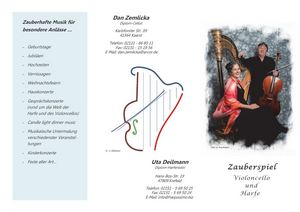 Harfe Cello Flyer Download